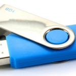Blue USB Key